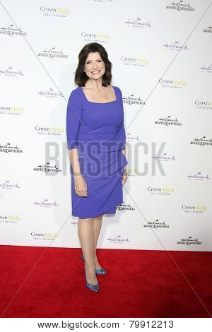 LOS ANGELES - JAN 8:  Martha Williamson at the Hallmark TCA Party at a Tournament House on January 8, 2014 in Pasadena, CA