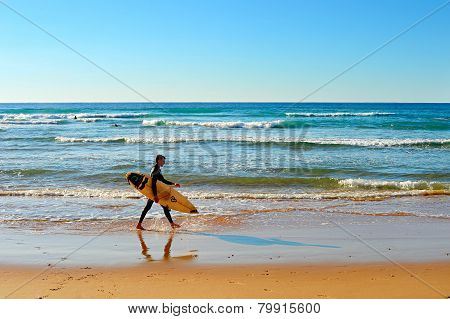 Beach, Surfer , Portugal
