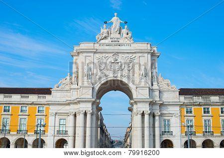 Rua Augusta Arch, Lisbon