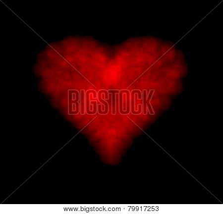 Heart Shape Of Bokeh Lights
