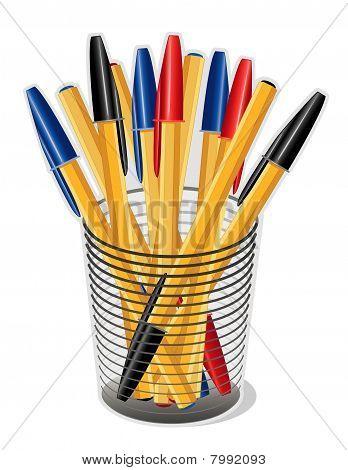 Ballpoint Ink Pens