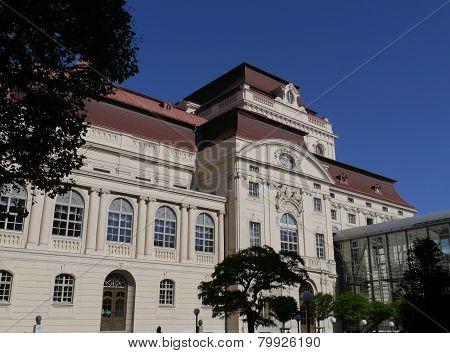 The opera of Graz in Austria