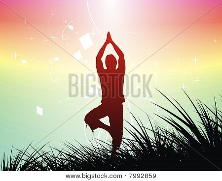 Yoga Background