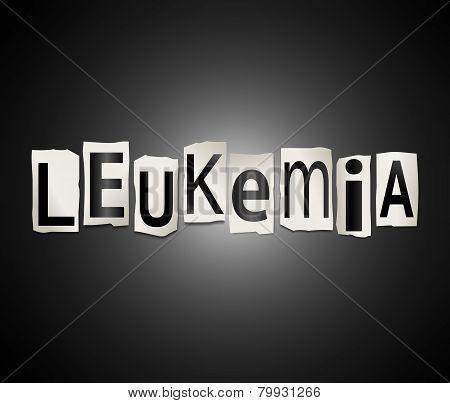 Leukemia Concept.