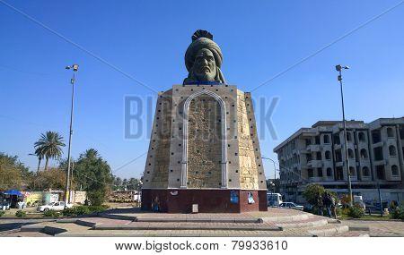 Statue of Abu Jaafar Al Mansour