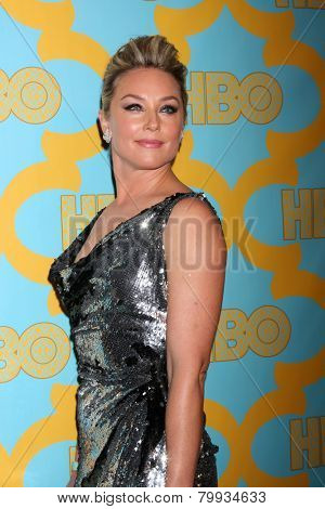 LOS ANGELES - JAN 11:  Elizabeth Rohm at the HBO Post Golden Globe Party at a Circa 55, Beverly Hilton Hotel on January 11, 2015 in Beverly Hills, CA
