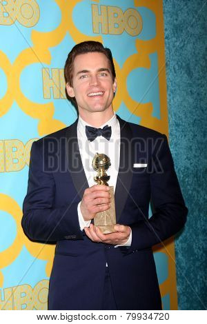LOS ANGELES - JAN 11:  Matt Bomer at the HBO Post Golden Globe Party at a Circa 55, Beverly Hilton Hotel on January 11, 2015 in Beverly Hills, CA
