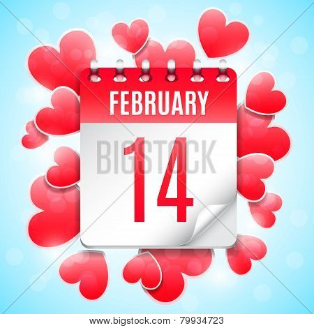 Valentines Day Date Concept