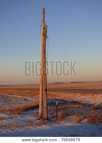 Abandoned Power Line