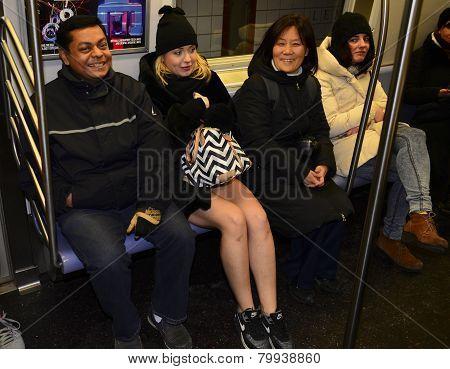 MTA riders react to female