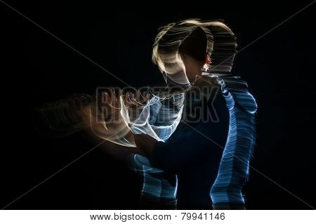Flutist play