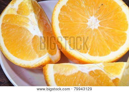 Orange Cut On Segments