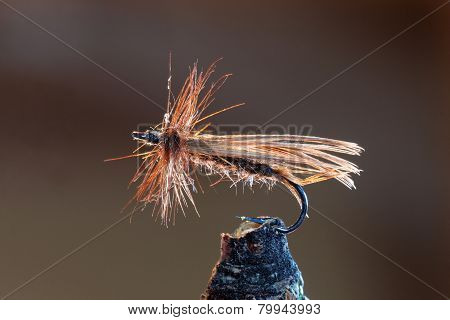 Brown Fly Fishing Lure