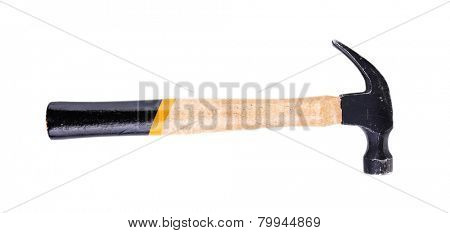 Hammer isolated on white