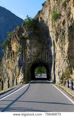 mountain road, Italy, Europe