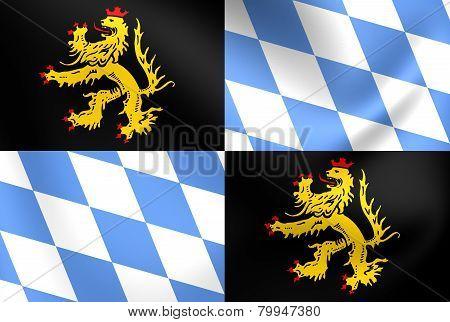 Flag Of Bavaria-munich