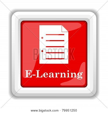 E-learning Icon