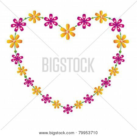 Floral heart