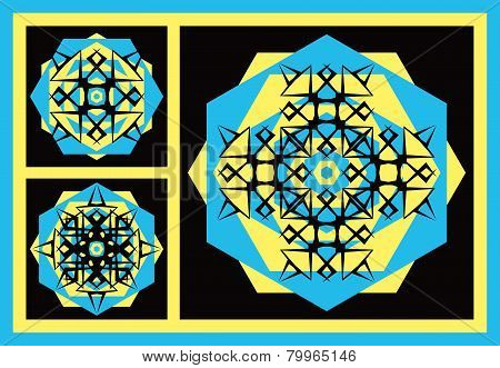 Symmetrical Backgrounds