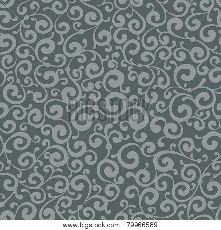 Excellent antique wallpaper, seamless