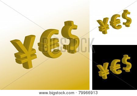 Currency Yes Signs