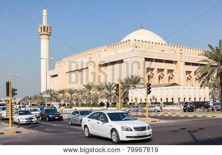Grand Mosque In Kuwait City