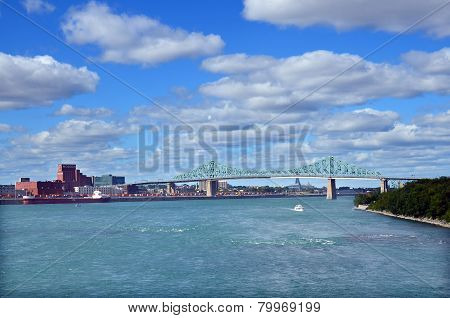 The Jacques Cartier Bridge