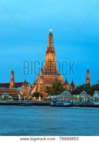 Wat Arun temple at Bangkok Thailand