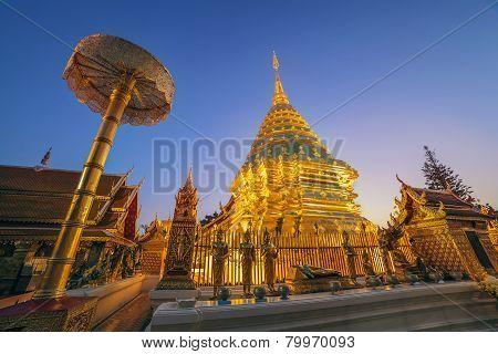 Doi Suthep temple Chiangmai Thailand