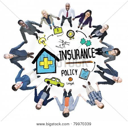 Diversity Business People Insurance Policy Teamwork Support Concept