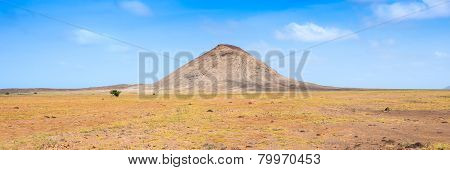 Arid Landscape Near Buracona In Sal Island Cape Verde Cabo Verde
