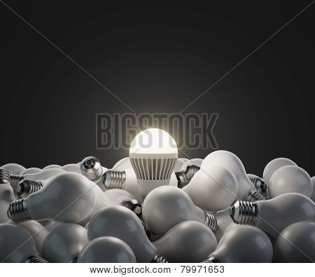 Led White Lightbulb