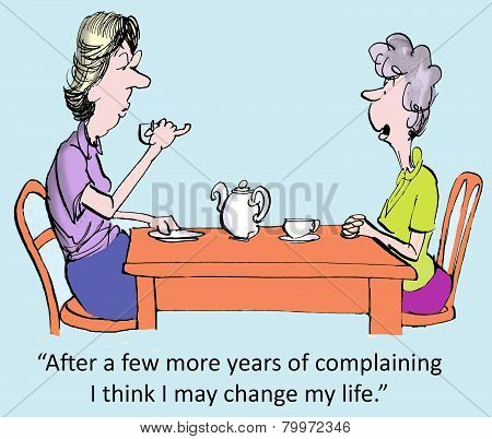 Years Of Complaining