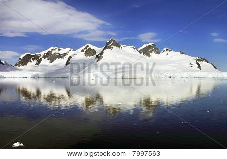 Icy Panoramic Landscape