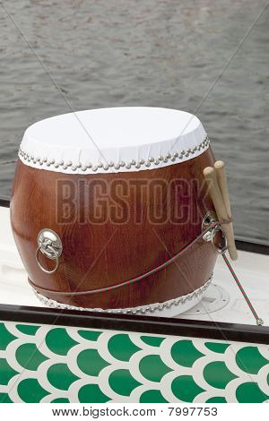 Dragon Boat Drum With Drumstick