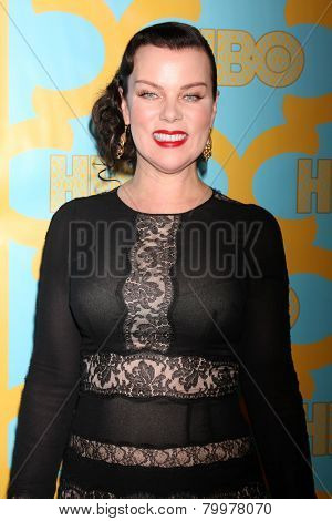 LOS ANGELES - JAN 11:  Debi Mazar at the HBO Post Golden Globe Party at a Circa 55, Beverly Hilton Hotel on January 11, 2015 in Beverly Hills, CA