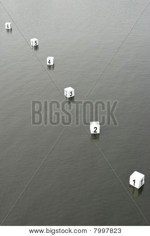 Water sports Finish Line