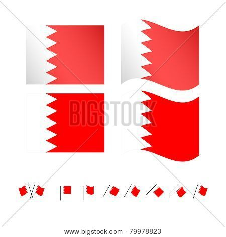 Bahrain Flags