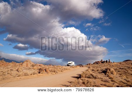 Off Road Recreation Alabama Hills Above Lone Pine
