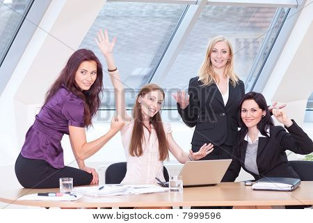 Smart Women Jubilating
