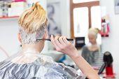 picture of hair dye  - Hairdresser salon - JPG