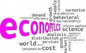 foto of macroeconomics  - A wrod cloud of economics related items - JPG