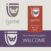 picture of controller  - Gaming console controller vector logo - JPG