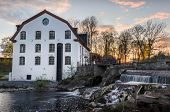 picture of water-mill  - Ulva Kvarn water mill located near Uppsala Sweden - JPG