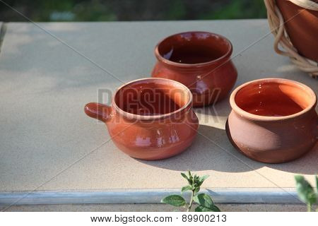 Ceramic Cups From Clay