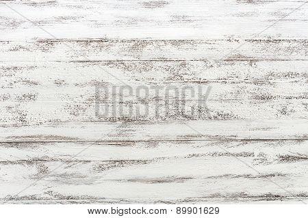 Wooden Background White