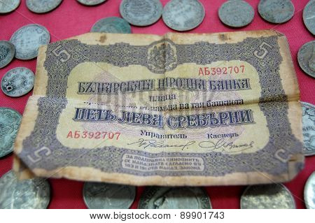 Vintage Money From Balkans