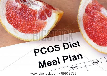 Paper with PCOS diet  Meal plan