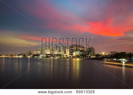 The Chao Phraya River