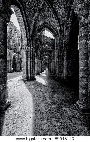 Abbazia di San Galgano, Siena, Tuscany, Italy